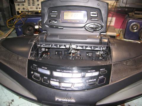 ремонт магнитолы Panasonic RX ED-77 Cobra