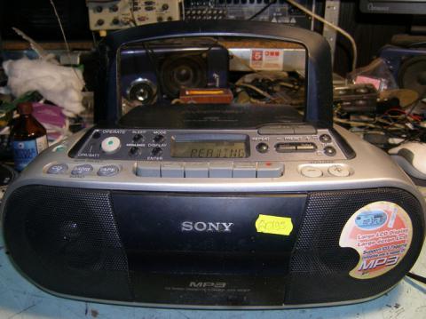 ремонт магнитолы Sony CFD-S03CP