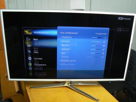 ремонт матрицы телевизора Samsung UE40D6510
