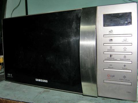 ремонт СВЧ печи Samsung ME86VR