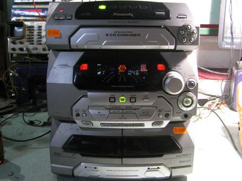 ремонт музыкального центра Panasonic SA-AK27
