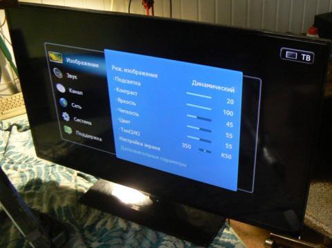 ремонт подсветки телевизора Samsung UE40ES5530W