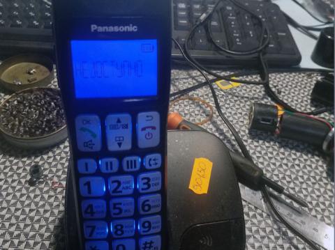 ремонт радіотелефона Panasonic KX-TGE110UC