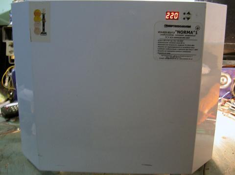 ремонт стабилизатора Укртехнология Norma НСН-12000 (НСН-0222-20,0-7,0)