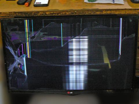 замена матрицы телевизора LG 32LA660V