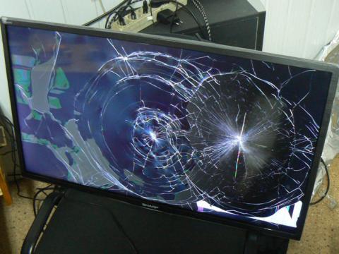 замена матрицы телевизора Sharp LC-32HI3012E