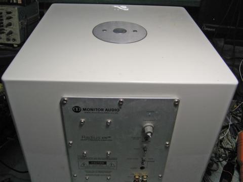 ремонт сабвуфера Monitor Audio Radius R370 HD