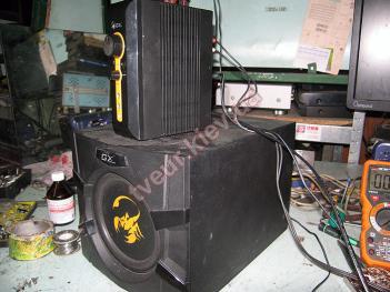 ремонт акустики Genius SW-G2.13000