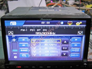 ремонт автомагнитолы Pioneer PI-803 GPS