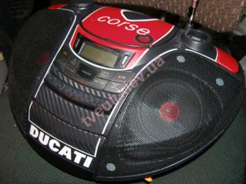 ремонт аудіотехніки Ducati Corse