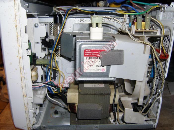 Ремонт микроволновой печи lg на дому