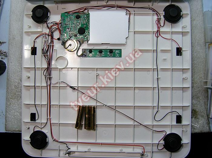 Электронные напольные весы ремонт своими руками